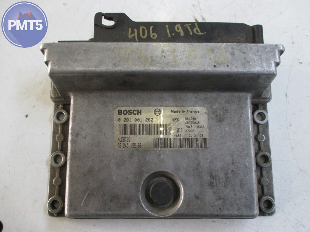 Electronic Engine Control Unit Peugeot 406 1997 Buy Moskva Motor Blower 0281001262 9624519586 10by1 4432
