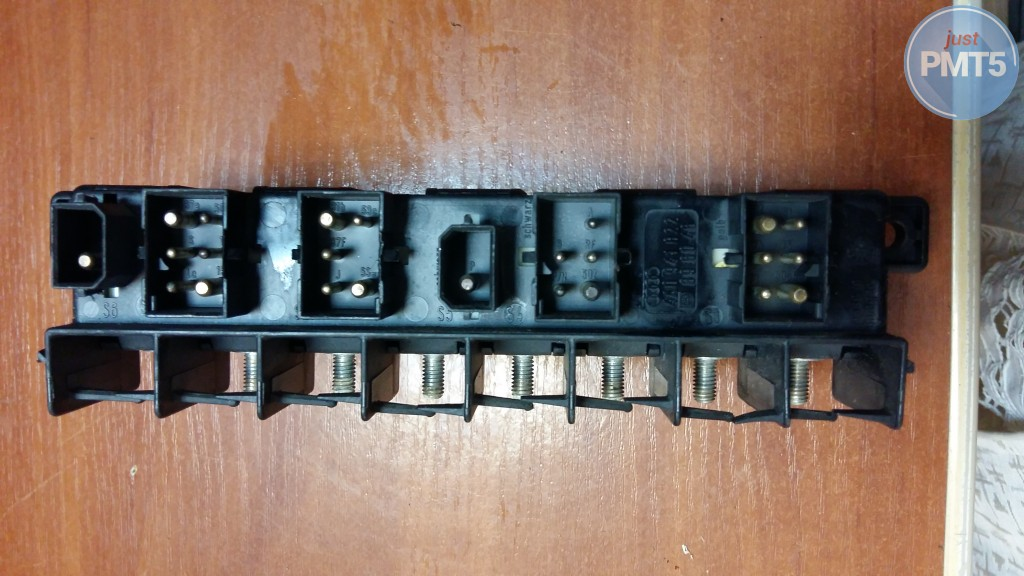 Fuse box audi a4 1998 buy moskva 4a0941822 10by1 4989