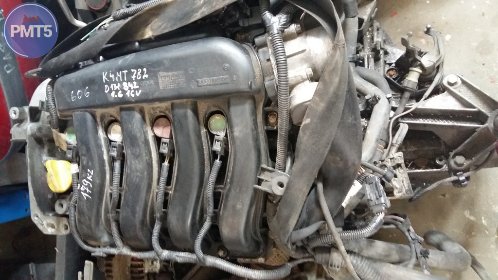 10BY1-5266, Basic engine for RENAULT SCENIC 2005 (K4M T 782 D131842)