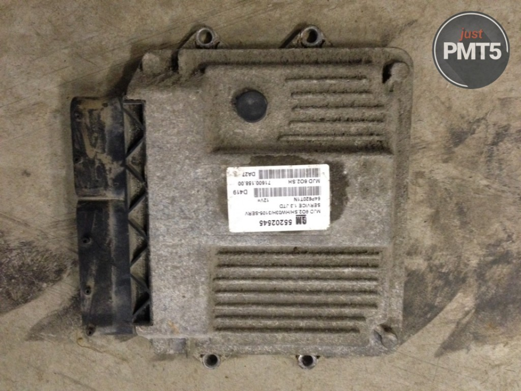 Electronic Engine Control Unit Opel Astra 2006 Buy Moskva 55202545 Vauxhall Fuse Box 11by1 2380