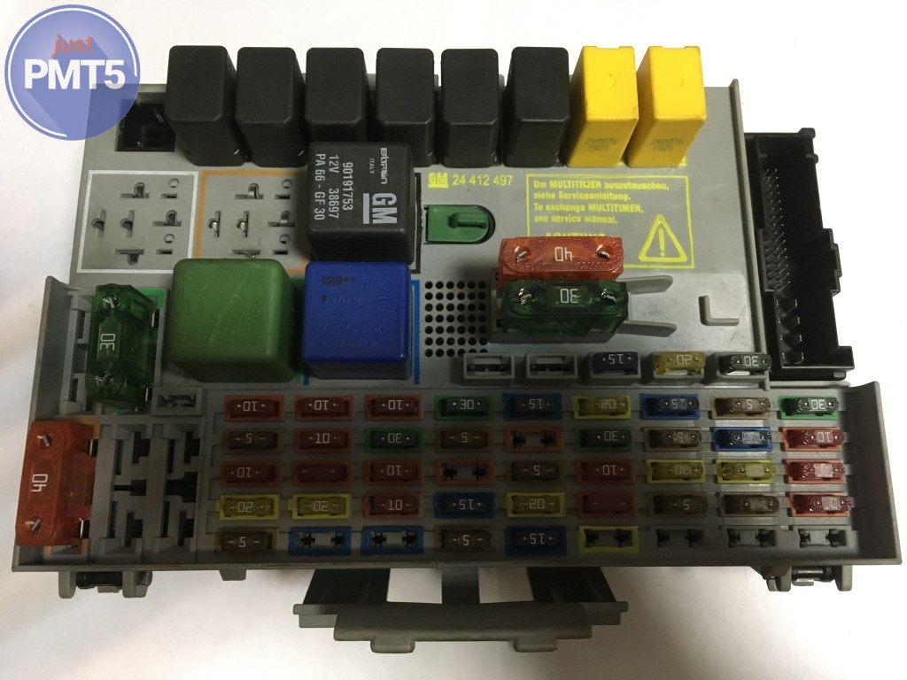 Fuse box OPEL ASTRA 2001 (GM 24412497), 11BY1-6467