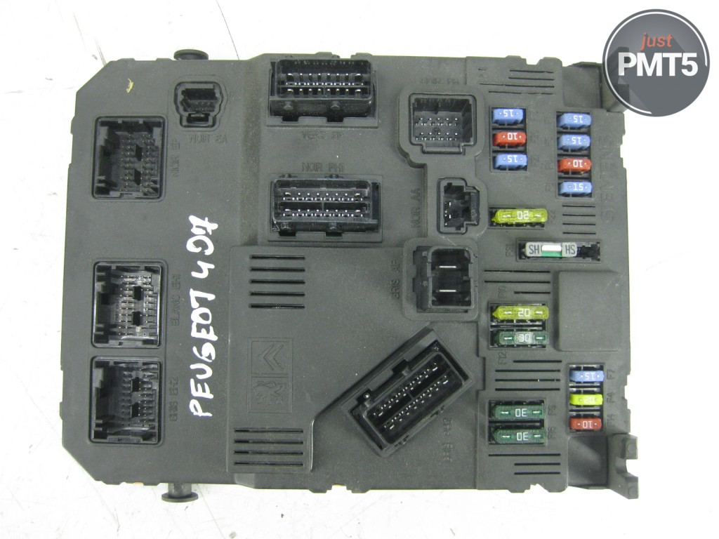 Peugeot 407 Fuse Box Location Wiring Library In Boot 2004 9655221280 09464 742608079 04245 S120104500 J