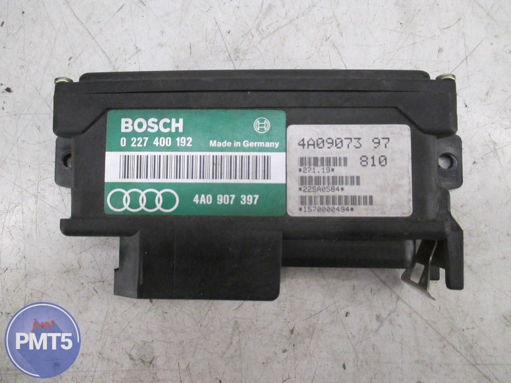 Electronic Engine Control Unit AUDI 100 1994 (0227400192, 4А0907397),  11BY1-7121