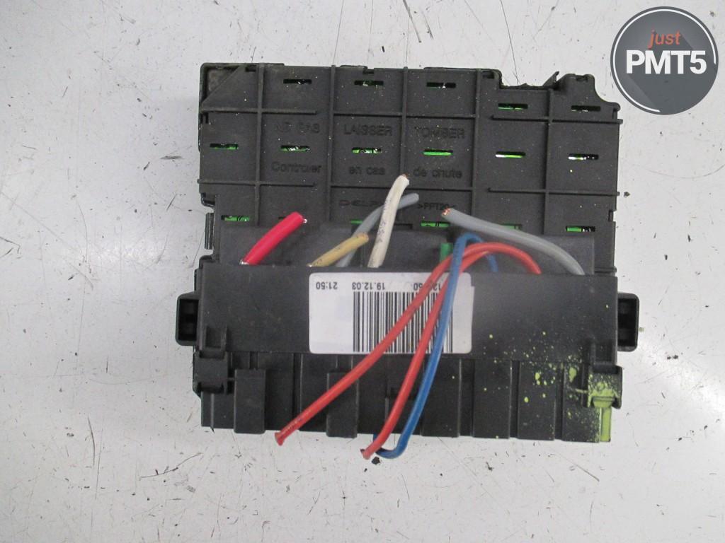 Fuse Box Peugeot 206 2002 Buy Moskva 965066380 Bsmb5 Adapter