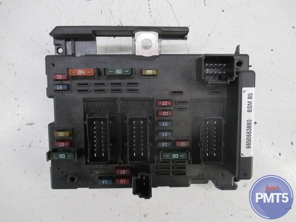 Peugeot 206 Y Reg Fuse Box Wiring Library Glx 2001 9650663880 9650663880bsmb5 11by1 9479