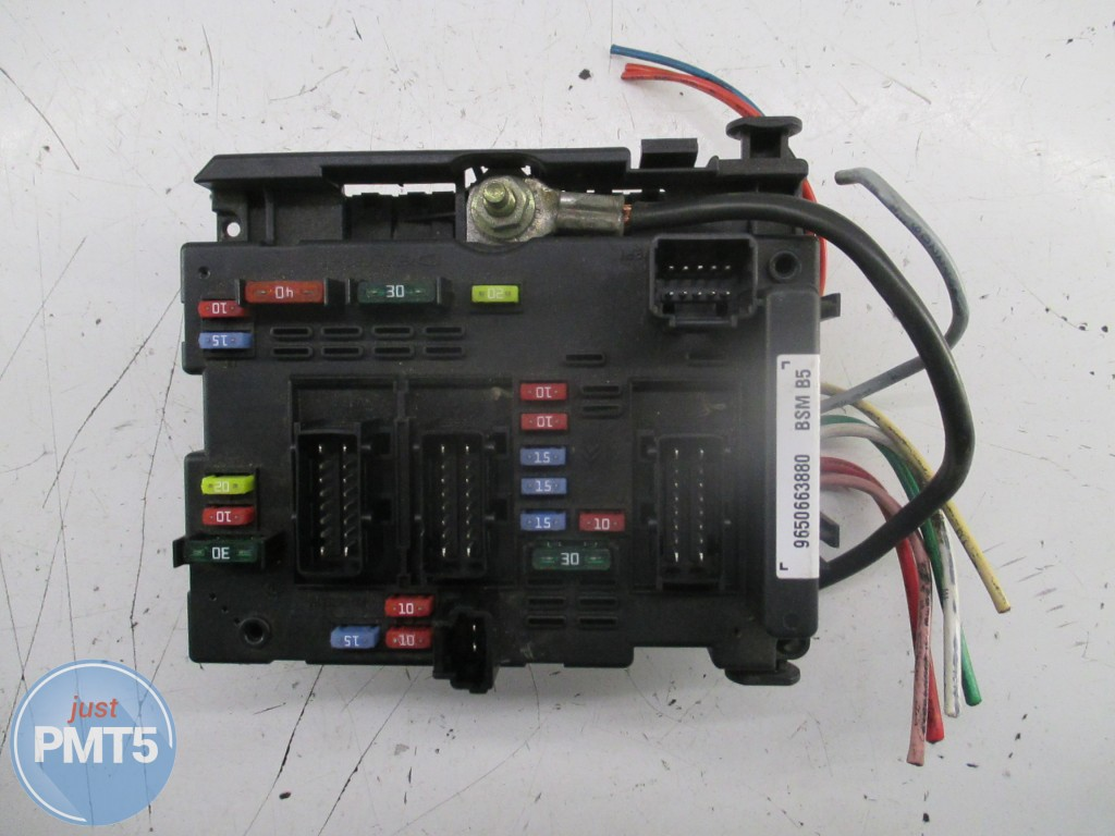 fuse box peugeot 307 2005 buy moskva 9650663880 11by1 9482 rh pmt5 com