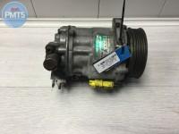 Air conditioning compressor CITROEN C5 2005 (9656572480, 01022505561, sanden, r134a, sd7c16), 11BY1-18935